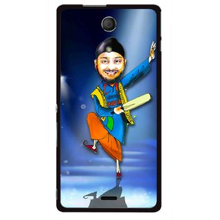 Snooky Printed Balle balle Mobile Back Cover For Sony Xperia ZR - Multicolour