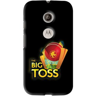 Snooky Printed Big Toss Mobile Back Cover For Motorola Moto E2 - Multi