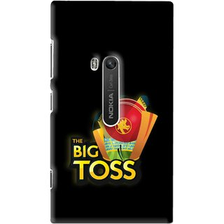 Snooky Printed Big Toss Mobile Back Cover For Nokia Lumia 920 - Multi
