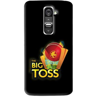 Snooky Printed Big Toss Mobile Back Cover For Lg G2 Mini - Multi
