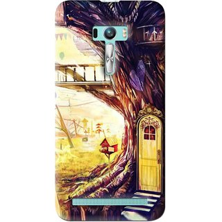 Snooky Printed Dream Home Mobile Back Cover For Asus Zenfone Selfie - Multi
