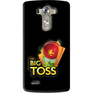 Snooky Printed Big Toss Mobile Back Cover For Lg G3 - Multi