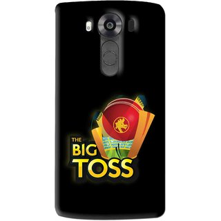 Snooky Printed Big Toss Mobile Back Cover For Lg V10 - Multi