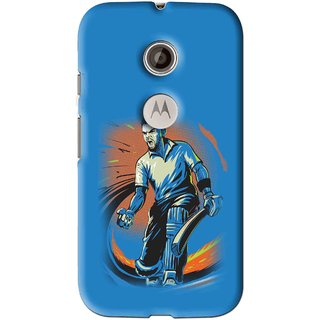 Snooky Printed I M Best Mobile Back Cover For Motorola Moto E2 - Multi