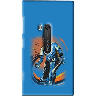 Snooky Printed I M Best Mobile Back Cover For Nokia Lumia 920 - Multi