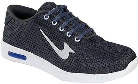 Zappy Men Grey Sports Shoes