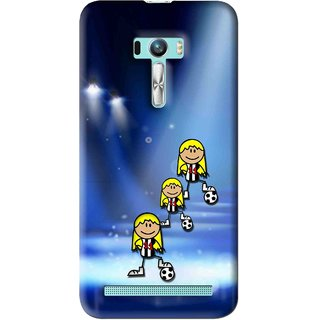 Snooky Printed Girls On Top Mobile Back Cover For Asus Zenfone Selfie - Multi