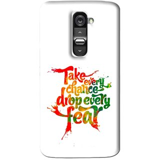 Snooky Printed Drop Fear Mobile Back Cover For Lg G2 Mini - Multi