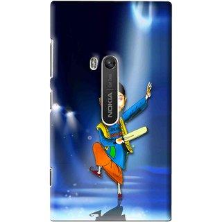 Snooky Printed Balle balle Mobile Back Cover For Nokia Lumia 920 - Multi