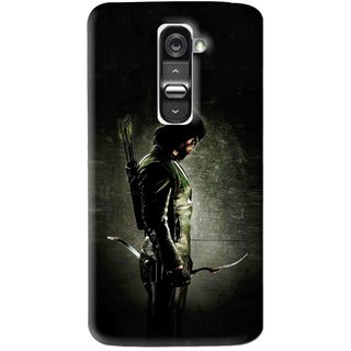 Snooky Printed Hunting Man Mobile Back Cover For Lg G2 Mini - Multi