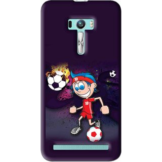 Snooky Printed My Game Mobile Back Cover For Asus Zenfone Selfie - Multi