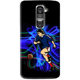 Snooky Printed Football Passion Mobile Back Cover For Lg G2 Mini - Multi