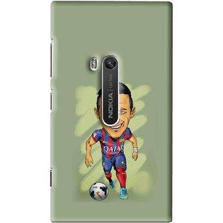 Snooky Printed Hara ke Dikha Mobile Back Cover For Nokia Lumia 920 - Multi