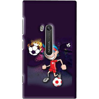 Snooky Printed My Game Mobile Back Cover For Nokia Lumia 920 - Multi
