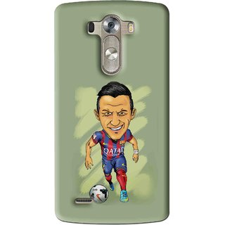 Snooky Printed Hara ke Dikha Mobile Back Cover For Lg G3 - Multi