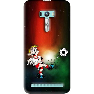 Snooky Printed My Passion Mobile Back Cover For Asus Zenfone Selfie - Multi