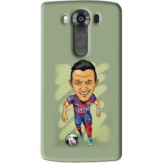 Snooky Printed Hara ke Dikha Mobile Back Cover For Lg V10 - Multi