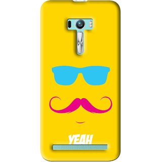 Snooky Printed Yeah Mobile Back Cover For Asus Zenfone Selfie - Multi