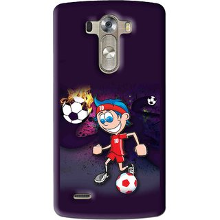 Snooky Printed My Game Mobile Back Cover For Lg G3 - Multi