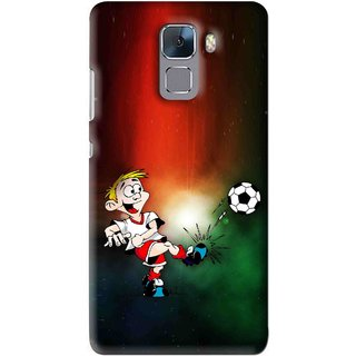 Snooky Printed My Passion Mobile Back Cover For Huawei Honor 7 - Multi