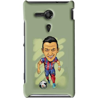 Snooky Printed Hara ke Dikha Mobile Back Cover For Sony Xperia SP - Multi