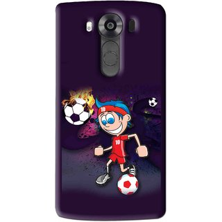 Snooky Printed My Game Mobile Back Cover For Lg V10 - Multi