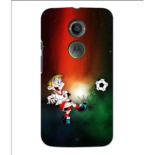 Snooky Printed My Passion Mobile Back Cover For Moto X 2nd Gen. - Multi
