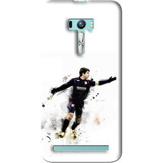 Snooky Printed Pass Me Mobile Back Cover For Asus Zenfone Selfie - Multi