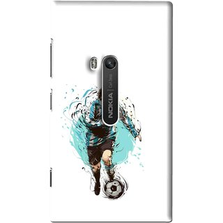 Snooky Printed Have To Win Mobile Back Cover For Nokia Lumia 920 - Multi