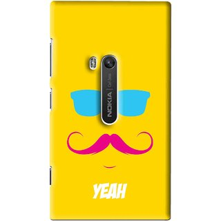 Snooky Printed Yeah Mobile Back Cover For Nokia Lumia 920 - Multi