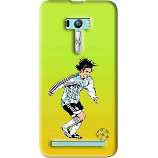 Snooky Printed Focus Ball Mobile Back Cover For Asus Zenfone Selfie - Multi