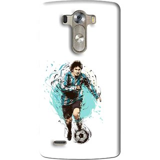 Snooky Printed Have To Win Mobile Back Cover For Lg G3 - Multi