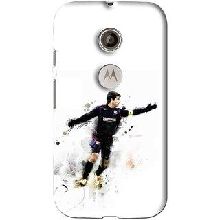 Snooky Printed Pass Me Mobile Back Cover For Motorola Moto E2 - Multi