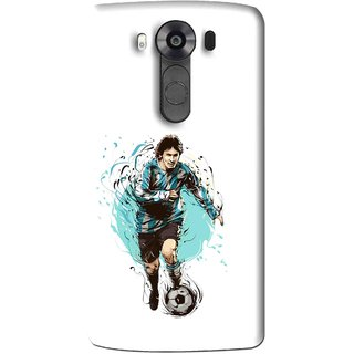 Snooky Printed Have To Win Mobile Back Cover For Lg V10 - Multi