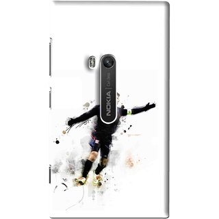 Snooky Printed Pass Me Mobile Back Cover For Nokia Lumia 920 - Multi