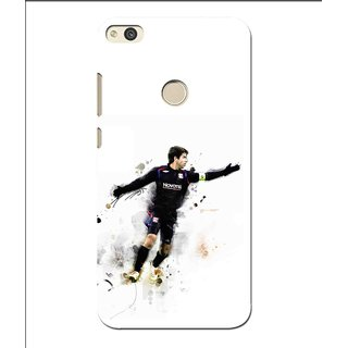Snooky Printed Pass Me Mobile Back Cover For Huawei P8 Lite (2017) - Multi