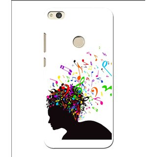 Snooky Printed Music Lover Mobile Back Cover For Huawei P8 Lite (2017) - Multi