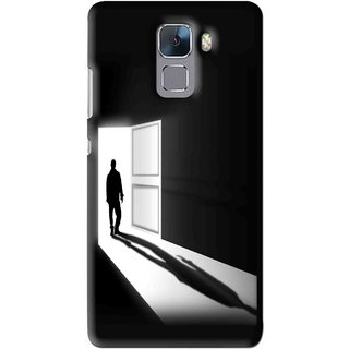 Snooky Printed Night Out Mobile Back Cover For Huawei Honor 7 - Multi