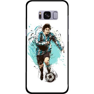 Snooky Printed Have To Win Mobile Back Cover For Samsung Galaxy S8 Plus - Multicolour