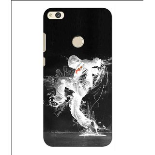 Snooky Printed Dance Mania Mobile Back Cover For Huawei P8 Lite (2017) - Multi