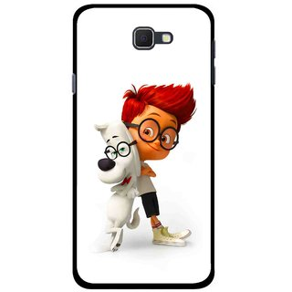 Snooky Printed My Friend Mobile Back Cover For Samsung Galaxy J5 Prime - Multicolour