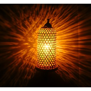 Buy Dc Eco Wall Hanging Lamp For Living Room To Make Your Room Beautiful Home Decor Made By Bamboo Wood Online 990 From Shopclues