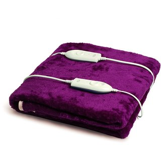 Expressions Super Soft Electric Bed Warmer - Electric Blanket - Double Bed Size - 150x160cms - 102DB