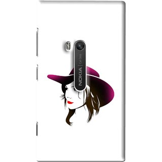 Snooky Printed Tom Boy Mobile Back Cover For Nokia Lumia 920 - Multi
