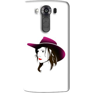 Snooky Printed Tom Boy Mobile Back Cover For Lg V10 - Multi
