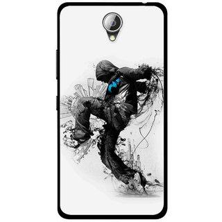 Snooky Printed Enjoying Life Mobile Back Cover For Lenovo A5000 - Multicolour