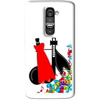 Snooky Printed Fashion Mobile Back Cover For Lg G2 Mini - Multi