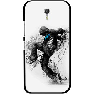 Snooky Printed Enjoying Life Mobile Back Cover For Lenovo Zuk Z1 - Multicolour