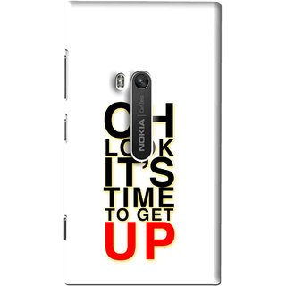Snooky Printed Get Up Mobile Back Cover For Nokia Lumia 920 - Multi