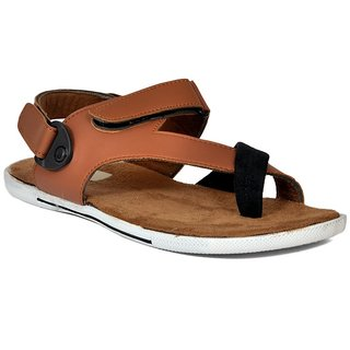 52117fd642fa Buy MRAP Men Tan Sandal Online   ₹499 from ShopClues